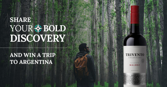 "Trivento now a Top 20 Wine Brand as ""Real Life Bold Discoveries"" campaign builds awareness"
