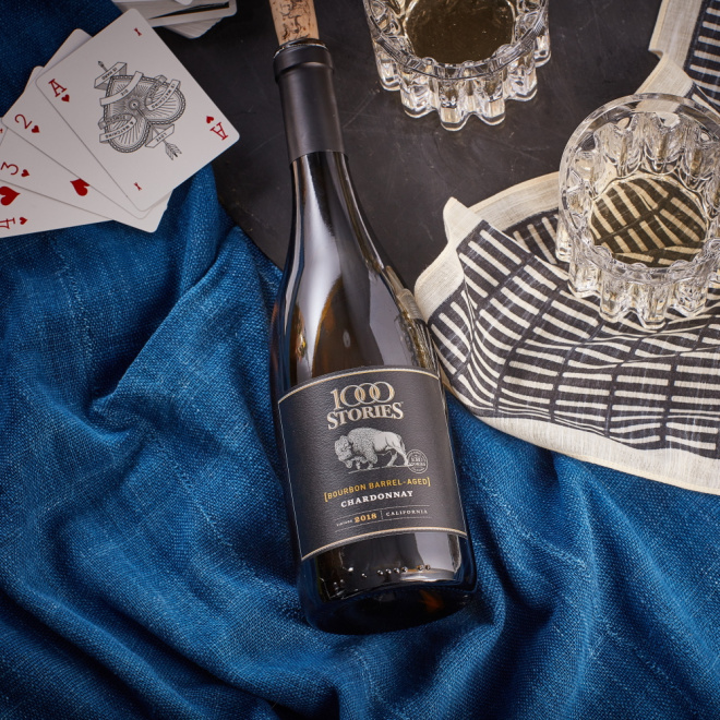 1000 Stories launches bourbon barrel-aged Chardonnay